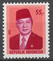 Indonesia 1983 Mi# 1107** DEFINITIVE, PRESIDENT SUHARTO - Indonesia
