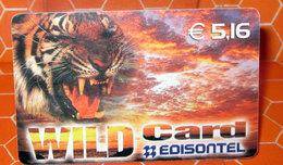 WILD CARD EDISONTEL  € 5.16 - Schede GSM, Prepagate & Ricariche