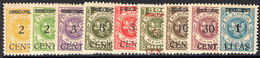 Lithuanian Occupation Of Memel 1923 (April-May) Lightly Mounted Mint. - Lithuania