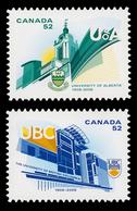 Canada (Scott No.2263i-64i - Université De Colombie Britanique / British Colombia University) [**] NOTE-DC - 1952-.... Règne D'Elizabeth II