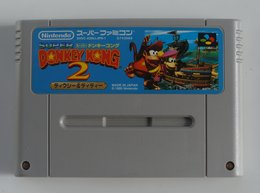 Super Famicom Super Donkey Kong 2: Dixie & Diddy / SHVC-ADNJ-JPN - Elektronische Spelletjes