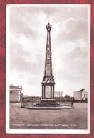 ITALY Cartolina Bitonto - Obelisco Carolino A Ricordo Battaglia UNUSED - Bari