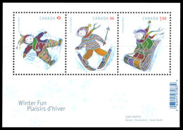 Canada (Scott No.2292a - Noel / 2008 / Christmas) [**] BF / SS - 1952-.... Règne D'Elizabeth II