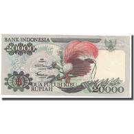 Billet, Indonésie, 20,000 Rupiah, 1992, KM:132a, TTB - Indonésie