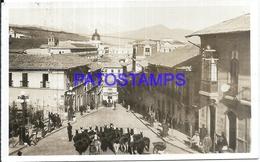 101429 BOLIVIA LA PAZ VISTA PARCIAL CALLE STREET CIRCULATED TO ARGENTINA POSTAL POSTCARD - Bolivia