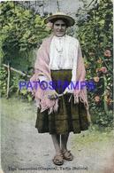 101430 BOLIVIA TARIJA COSTUMES NATIVE CAMPESINA CHAPACA CIRCULATED TO ARGENTINA POSTAL POSTCARD - Bolivia