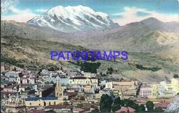 101431 BOLIVIA LA PAZ VISTA PANORAMICA CIRCULATED TO COSTA RICA POSTAL POSTCARD - Bolivia