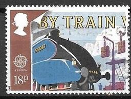 1988 By Train, 18p, Used - 1952-.... (Elizabeth II)