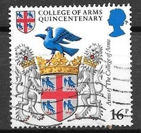 1984 Arms Of The College Of Arms, 16p, Used - 1952-.... (Elizabeth II)