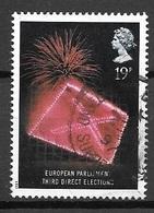 1989 European Parliament Election, 19p, Used - 1952-.... (Elizabeth II)
