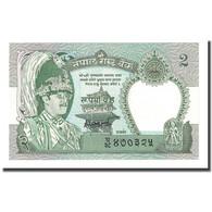 Billet, Népal, 2 Rupees, Undated (1987), KM:29b, NEUF - Népal