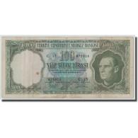 Billet, Turquie, 100 Lira, L.1930, 1964.10.01, KM:177a, TB - Turquie