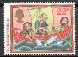 1986 The Hebrides Tribute, 22p, Used - 1952-.... (Elizabeth II)