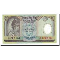 Billet, Népal, 10 Rupees, Undated (2002), KM:54, NEUF - Népal