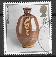 1987 Pot By Bernard Leach, 18p, Used - 1952-.... (Elizabeth II)