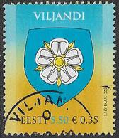 Estonia SG559 2007 Viljandi City 5k.50 Good/fine Used [38/31486/6D] - Estonia