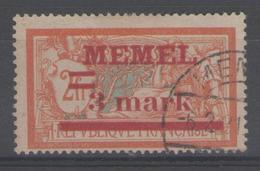 MEMEL:  N°29 Oblitéré       - Cote 48€ - - Memel (1920-1924)