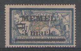 MEMEL:  N°30 *       - Cote 32€ - - Memel (1920-1924)