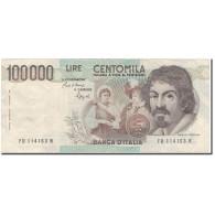 Billet, Italie, 100,000 Lire, 1983-09-01, KM:110b, TTB - [ 2] 1946-… Republik