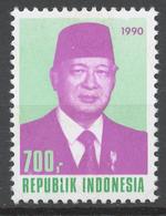 Indonesia 1990 Mi# 1343** DEFINITIVE, PRESIDENT SUHARTO - Indonesia