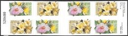 Norway   2001   Sc#1273b  Roses Booklet MNH  2016 Scott Value $14 - Roses