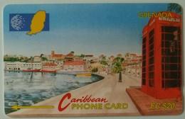 GRENADA - GRE-5B - GPT - 5CGRB - $20 - Carenage St Georges - Used - Grenada