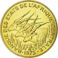 Monnaie, États De L'Afrique Centrale, 25 Francs, 1975, Paris, ESSAI, SPL - Cameroun