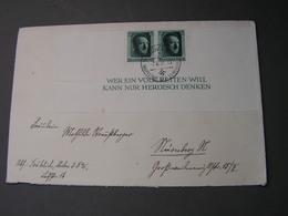 DR  Cv, Volksretter .. Aus Block 1937 MeF - Deutschland
