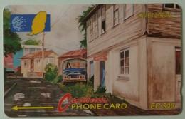 GRENADA - GRE-5C - GPT - 5CRGC- $40 - Street Scene Gouvyave - Used - Granada