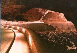 Grottes Du Mas D'azil Interieur La Route Et L'arize CPM Ou CPSM - France