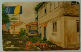 GRENADA - GRE-6C - GPT - 6CGRC- $40 - Street Scene Gouvyave - Used - Grenada