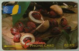GRENADA - GRE-6D - GPT - 6CGRD - $75 - Nutmeg - Used - Grenada