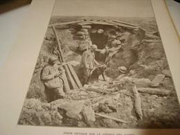 AFFICHE PHOTO POSTE OPTIQUE CHEMIN DES DAMES 1917 - Affiches