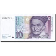 Billet, République Fédérale Allemande, 10 Deutsche Mark, 1993, 1993-10-01 - [ 7] 1949-… : RFA - Rep. Fed. Tedesca