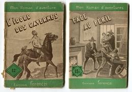 Mon Roman D'aventures Ferenczi 10 Volumes - 1901-1940