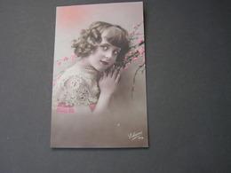 Schönes Mädchen Motiv, Mädchen, Portrait, Fillet, Girl, Child   1921 - Abbildungen
