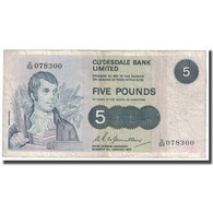 Billet, Scotland, 5 Pounds, 1975, 1975-01-06, KM:205c, TB - Scozia