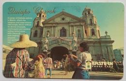 44PETC Eastern Telecoms  Quiapo Church  600 Units - Philippines