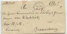 """1840 WOLFENBÜTTEL Bf ,,Cito"""" N.Braunschweig - Deutschland"""