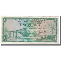 Billet, Scotland, 1 Pound, 1963, 1963-08-01, KM:269a, TB - Ecosse