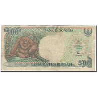 Billet, Indonésie, 500 Rupiah, 1992, KM:128a, B+ - Indonésie
