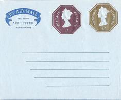 Grande Bretagne Großbritannien Britain, Entier Postal Ganzsachen Postal Stationery, Aérogramme Luftpost Air Letter - Entiers Postaux