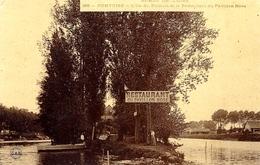 Bords De L'Oise - PONTOISE -l'Île Du Pothuis Et Le Restaurant Du Pavillon Rose - Compiegne