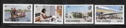 Gambia 1983 World Communications Year MNH - Gambia (1965-...)