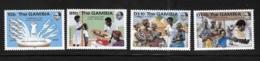 Gambia 1985 UN Child Survival Campaign MNH - Gambia (1965-...)