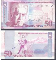 Armenia. 50Dr/1998, P-41, UNC - Armenia