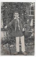 (RECTO / VERSO) PAYSAN EN 1903 - CARTE PHOTO - CPA VOYAGEE - 75 - Autres