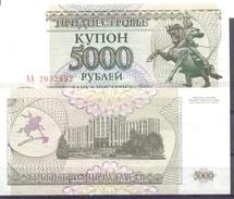 1995. Transnistria, 5000 Rub, P-24, UNC - Moldavië