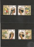TUVALU Année 1987 Fleurs/Flowers N°Y/T : 448/55** - Tuvalu