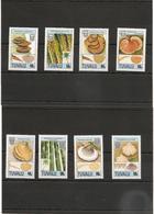 TUVALU Années 1988/89 Flore/ Champignons N°Y/T : 500/03** - 515/18** Côte : 20,50 € - Tuvalu